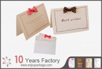 Customized Paper Greeting Card  Printing