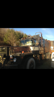 Mack DM 800 water truck