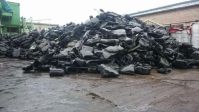 HDPE regrind from car tanks