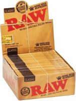 RAW Rolling Papers For Sale, classic & organic king size rolling papers