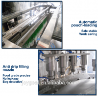 ZLD-A series stand-up pouch filling and cap-screwing machine