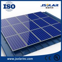 Aluminum PV clamp Rooftop Mounting System Solar Energy System
