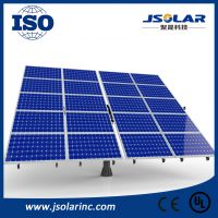 Best price PV solar tracker azimuth one-pole automatic sun tracking system 5kW