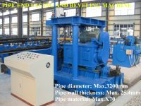 Pipe end facing and beveling machine