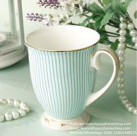 Floral pattern Luxury Bone China Mug 330ml  gift