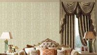 """Qiteli"" brand hot selling 2017 new design modern seamless  textile wallpaper wall cloth wall fabric"