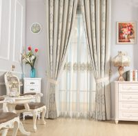 new design simple curtain kit curtain fabric cloth and parts  curtain fabric and accessories