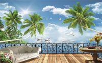 3D  wall mural wall painting wallcovering for decoratrion oil paintings