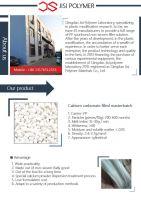Calcium carbonate filler masterbatch for PP Spunbonded nonwoven fabric
