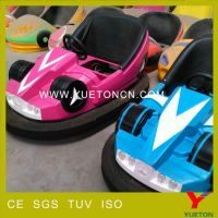 Professional manufacture good qulity bumper car for children