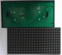 High Brightness P10 SMD3528 Single Color LED Display Module