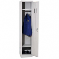Lockable steel cabinet for dressing room with optional color