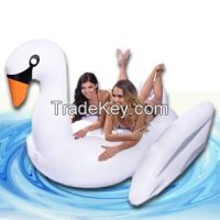 Giant Inflatable Swan Ride-on Premium Quality and Largest Size (for Ad
