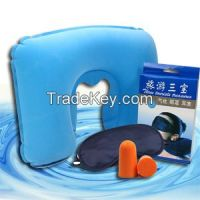 Inflatable Travel Neck Pillow, Portable Camping Pillow