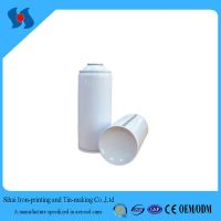 Diam.65mm Empty White Coating Aerosol Spray Tin Can