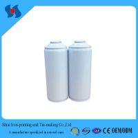 Diam.65mm Empty White Coating Aerosol Spray Tin Can