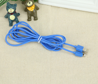 2017 hotsale in US 10 foot Iphone cables 3M Miro USB colorful data cables 2.1A fast charging