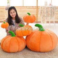 Pumpkin Plush Doll