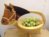 Wooden Fruit Basket Craft - Animal shape