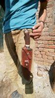 "Custom Handmade Damascus Knife Stage 15"""