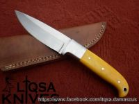 Custom made hunting knife