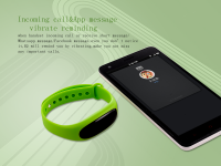 2017Stylish Multifunctional Waterproof Bluetooth 4.1 Wristband