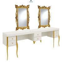 Barber Shop Mirrors , Barber Mirrors , Barber benches , Beauty Salon Mirrors , Salon Mirrors For Hairdressers , Hairdressing Benches , Viaypi Company , Barber Chairs , Hairdressing Tables , Barber Tables
