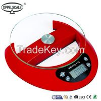 Electronic Digital Kitchen Scale Equipped With High Precision Strain Gauge