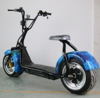 1500W 60V 12Ah Lithium Battery Electric Scooter City Coco, Citycoco Electric Scooter Adult Motorcycle