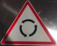 Angola road traffic sign, road traffic signal