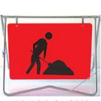 Australia road traffic swing stand sign, Australia road traffic swing stand signal