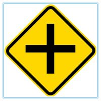 Brazil road traffic warning sign, Brazil road traffic warning signal