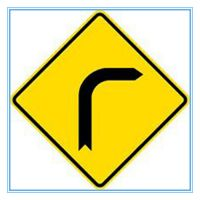 Malaysia road traffic yellow warning sign, Malaysia road traffic yellow warning signal