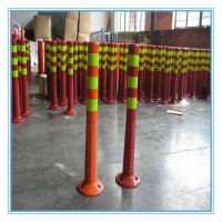 PU flexible elastic warning posts, PU flexible elastic warning bollards