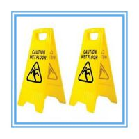 folding PP wet floor sign caution no parking sign
