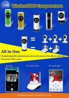 Wholesale Factory Direct Sale 720P 1.0 Megapixel 180 degree Panoramic cctv wireless camera price