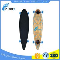 transparent wheel single kick skateboard concave skateboard