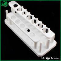 Lab Plastic Double Row Test Tube Rack Detachable