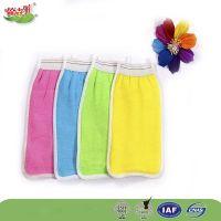 exfoliating bath gloves bath towel