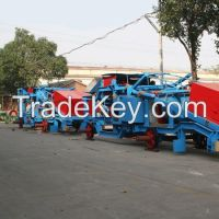 Environmental protection mobile discharge car