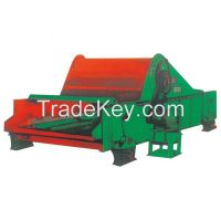 Single shaft screen and dual shaft screen for mining