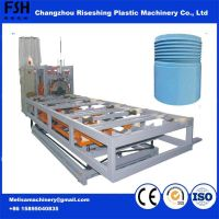 2017 China Manufacture Automatical PP Pipe Threading/Socketing Cutting Machine