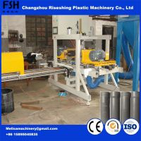 2017 China Manufacture Automatical PP/PVC/PE Pipe Slotting/Grooving Cutting Machine