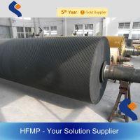 custom precision rubber coated roller/ rubber roller