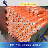 rubber coated conveyor rollers