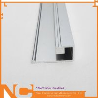 Anodized aluminum profile