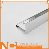 Bright dipping aluminum profile