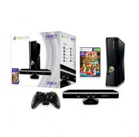 New In Stock Microsoft Xbox 360 250GB Console with Kinect, two free pads and 10 free games including free shipping on bulk order