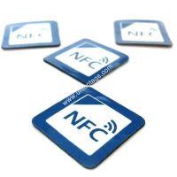 NFC Anti-metal Tag with Adhesive Paper, Ferrite Layer