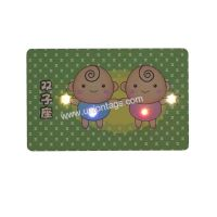 NFC LED Flash card